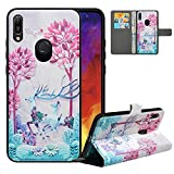LFDZ Compatible with Huawei Y6 2019 Case/Honor 8A Case,PU
