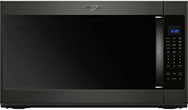 Whirlpool WMH53521HV 2.1 Cu. Ft. Black Stainless Over-the-Range Microwave
