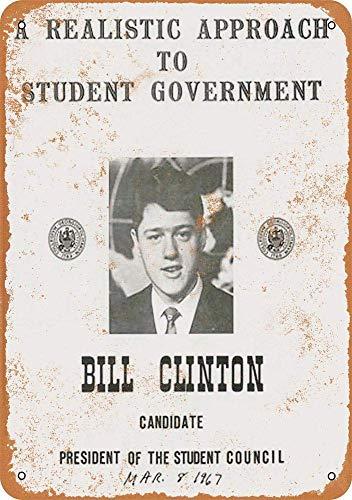 MiMiMiTee Bill Clinton blikken borden wijnoogst-metalen plakband muurkunst poster ijzeren schilderij huis decoratie kunsthandwerk café bar erf geschenk