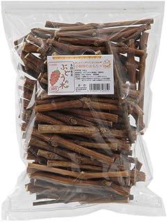 長野県産 ぶどうの木 細枝 500g 国産 お得用パック かじり木 小動物用のおもちゃ
