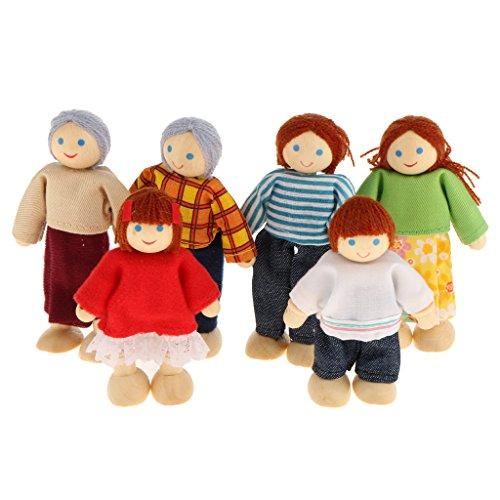 Personen Puppenfamilien Puppenhaus
