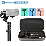 FeiyuTech G6 Plus 3-Axis Handheld Gimbal Stabilizer 3-in-1 for Lightweight Mirrorless Camera, GoPro Action Camera andSmartphone,Payload 3.3 lb