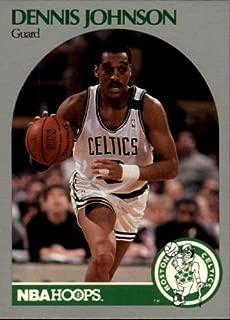 1990 Hoops Basketball Card (1990-91) #41 Dennis Johnson