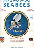 sheet music cover: The Song of the Seabees