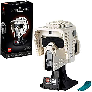 LEGO Star Wars Scout Trooper Helmet Collectible Building Toy (471 Pieces)