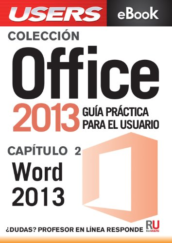 Office 2013: Word 2013 (Colección Office 2013 nº 2) (Spanish Edition)