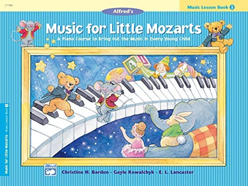 Music for Little Mozarts Music Lesson Book 3 product image