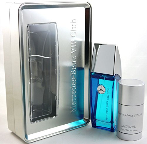 Mercedes-Benz Duft-Set: VIP Club Energetic Aromatic Eau de Toilette Spray 100 ml + Deo Stick 75 ml