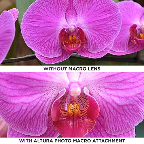 58MM 0.43x Altura Photo Professional HD Wide Angle Lens (w/Macro Portion) for Canon EOS 70D 77D 80D Rebel T7 T7i T6i T6s T6 SL2 SL3 DSLR Cameras