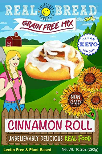 Paleo-Keto Friendly-Grain Free Cinnamon Roll Mix 10.2 oz