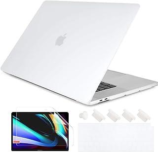 Batianda 2020 MacBook Air 13 Retina ケース A2337 M1 A2179 超薄型 軽量 マックブック シェルカバー 液晶保護フィルム & 日本語キーボードカバー & ダストプラグ付き保護カバー,半透明