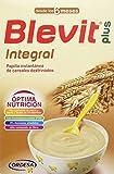 Blevit Plus Integral 300 gr. Cereales para bebé. A partir de los 6 meses, contiene gluten.