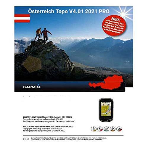 Garmin Carte vectorielle V4 Pro de l'Autriche, Carte topographique avec Plus de 70 000 km de sentiers de randonnée et de Pistes cyclables
