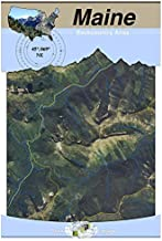 45°069° NE - Moosehead Lake, Maine Backcountry Atlas (Aerial)