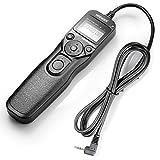 appareil photo reflex canon 450d Il telecomando del timer viene utilizzato per attivare l'otturatore della fotocamera con Scatto ritardato/Autoscatto, Scatto con lampadine/Timer esposizione lunga, Timer intervallo, Controllo conteggio esposizione, Funzione interruttore remoto.