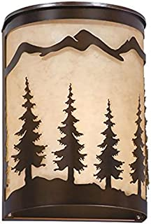 Vaxcel WS55508BBZ Yosemite Wall Sconce, 8