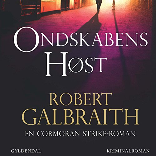 Ondskabens høst audiobook cover art