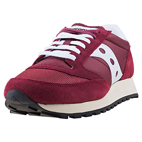 Saucony Jazz Original Vintage, Zapatillas de Cross Unisex Adulto, Morado (Burgundy/White 11), 41 EU