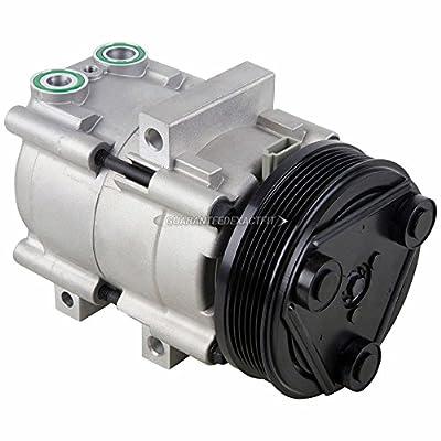 AC Compressor & A/C Clutch For Ford Escape Mazda Tribute Mercury Mariner V6 2001 2002 2003 2004 2005 2006 2007 - BuyAutoParts 60-00791NA New