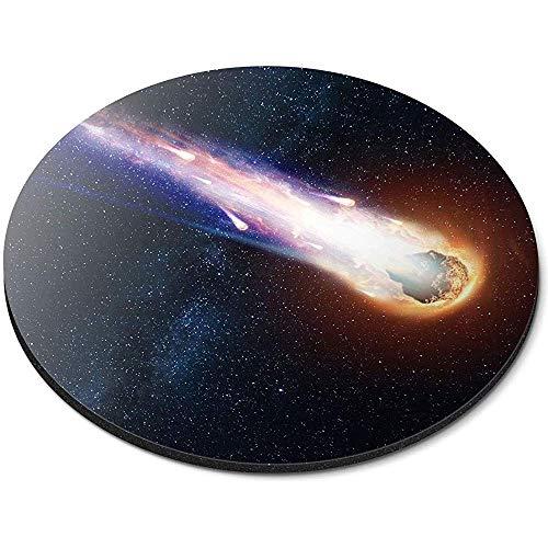 Runde Mausunterlage - Kometen-Asteroiden-Meteoriten-Felsen-Büro-Geschenk