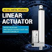 Akozon-Actuador-Lineal-Elctrico-150-700mm-Motor-de-Varilla-de-Empuje-Electrica-12V-Force-750N-para-Automatizacin-Mdica150mm