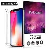 ONSON iPhoneX/8 Panzerglas Schutzfolie, [3 Stück] Displayschutzfolie für Samsung iPhoneX/8...