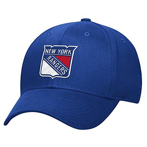 Reebok NHL Herren Basic Pro Shape Flex Cap, Herren, blau, Small-Medium