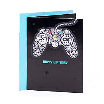 Hallmark Birthday Card  Video Games