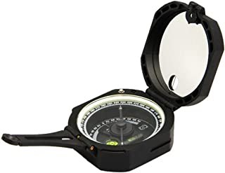 Ueasy Lightweight and Durable Transit Pocket Compass for Surveyors Foresters Military Green