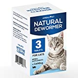 HERBALPET 8in1 Health Supplements   Cat Dewormer Alternative   Advanced Formula   Works for Kittens, Small, Medium and Large Cats   3 Tablets   One-time Treatment