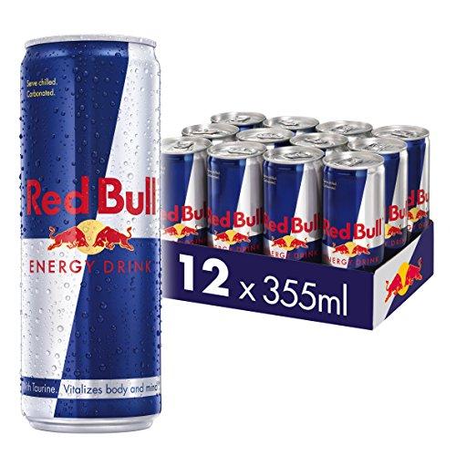 Red Bull Energy Drink 12 Pack of 355 ml