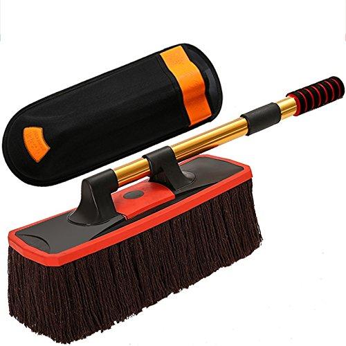 Tianzhensuiyue@ auto wassen, mops, stofshan, sub-grijze kwast, auto reiniging, mops, artefact, automotive speciaal gereedschap, poetsdoeken, autoaccessoires, lange 52 cm lang, 62 cm B