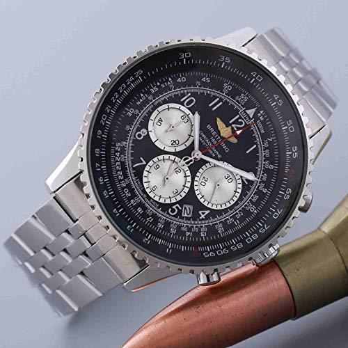 WMYATING Exquisito, Hermoso, decente, novedoso y único. Relojes de Pulsera Mira el Reloj de 6-Pin con Todas Las Funciones con Todas Las Funciones (Color : 2)