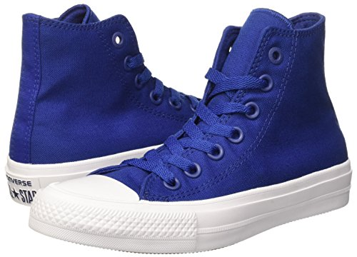 Converse Chuck Taylor All Star II Hi Sodalite Blue/White/Navy Classic Shoes