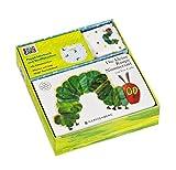 Die kleine Raupe Nimmersatt - Set mit Pappbilderbuch und Stofflätzchen: Geschenkset Pappbilderbuch mit Stofflätzchen