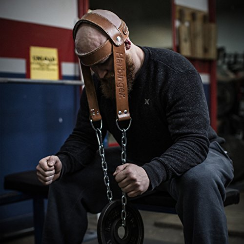 Harbinger Padded Leather Head Harness