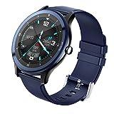 COULAX Smartwatch, Sportuhr mit 1.5 Zoll Touch Farbdisplay, IP68 Wasserdicht Fitness Armbanduhr mit Pulsmesser Schlafmonitor Musiksteuerung Schrittzähler, Fitness Smart Watch für Herren...