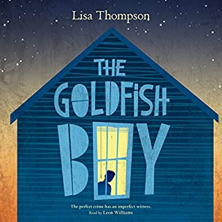The Goldfish Boy audiobook cover art