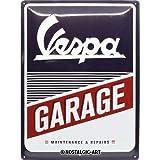 Nostalgic-Art Cartel de chapa retro Vespa – Garage – Idea de regalo para los...