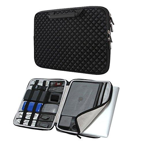 iCozzier 15-15,6 Laptoptasche mit Griff Stoßfest Hülle Schutztasche für 15