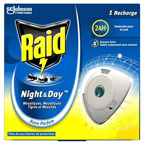 Raid Eléctrico Night&Day - Recarga moscas y mosquitos (240 horas)