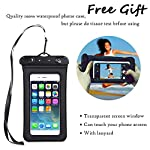 OMGear Waterproof Dry Bag Backpack Waterproof Phone Pouch 40L/30L/20L/10L/5L Floating Dry Sack for Kayaking Boating… 9 HIGHTEST QUALITY THICK MATERIALS,100% WATERPROOF GUARANTEED :OMGear dry bag is made by rugged 500D PVC tarpaulin , vinyl-coated for waterproof protection.Waterproof phone pouch is made by quality ABS+PVC with reinforced entry,which is worth $12 alone.You smart phone can trust our waterproof phone pouch. DOUBLE FLOATABLE ADJUSTABLE EVA BACK STRAPS:Unlike normal dry bags with one nylon shoulder strap,we make two back straps with adjustable buckles,allows for comfortable carrying and fit for most body sizes. The double straps are made by EVA material,which is same material as life vest,so the dry bag is floatable. COMPREHENSIVE USAGE:The dry backpack can float on water after rolled and buckled,,perfect for all outdoors activities,like diving, kayaking, boating, sailing, canoeing,surfing,fishing,rafting ,hiking ,camping, beach activities ect..