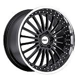 TSW Silverstone Gloss Black Wheel with Machined Lip (17x8'/5x110mm)