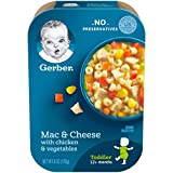 Gerber Mac & Cheese with Chicken & Vegetables, 6 Ounce (Pack of 6)