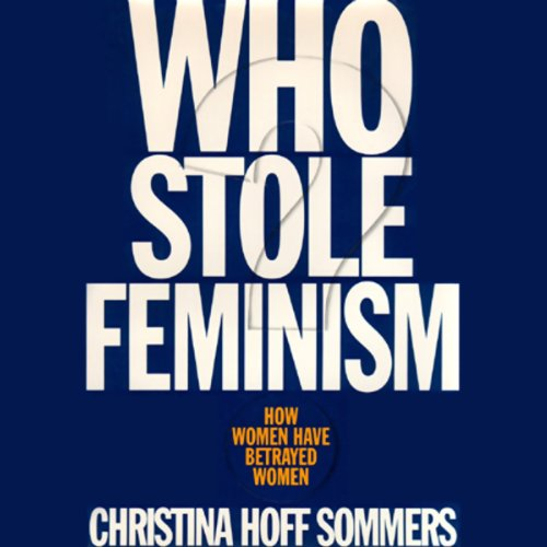 Who Stole Feminism? audiobook cover art