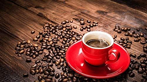 Puzzels Koffie Cafeïne Espressodrank Voor Volwassen Kinderen Legpuzzel - 1000 Stukjes-Decompressiespel Voor Volwassen Kinderen Met Houten Puzzelspeelgoed Unieke Woondecoraties En Geschenken