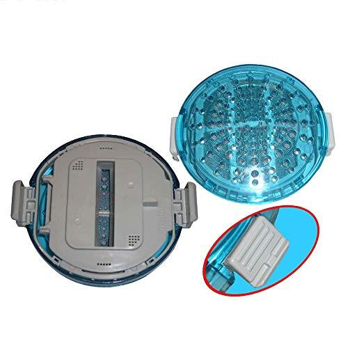 Actualizado 2 unids ronda filtro de pelusa ajuste para LG lavadora piezas de repuesto malla de polvo para T1007W T1103T T1103T T1407M8