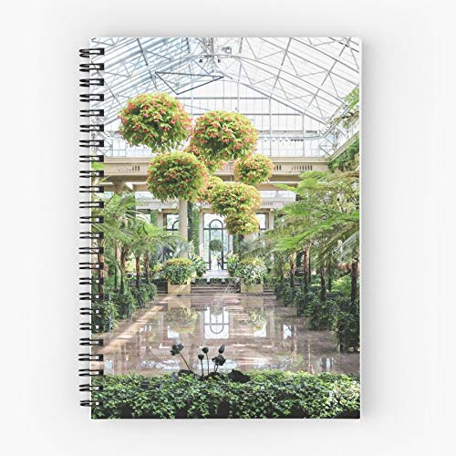 Conservatory Greenhouse Reflective Plants Garden Water Reflection Pool Tote Cotton Very Bag | Canvas Grocery Bags Tote Bags with Handles Durable Cotton Shopping Bags
