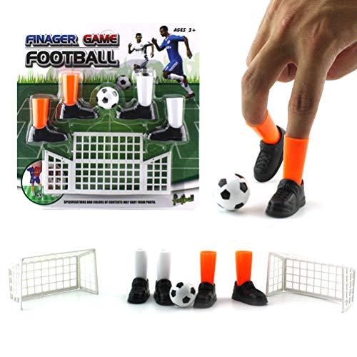 Dowoa Juego de fútbol con Dedos Juego de futbolín de Juguete Juego de Dos Dedos de Objetivo Juegos para Regalos de Fiesta Juguetes para niños