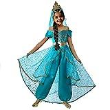 Pettigirl Ragazze Costume da Principessa delle Bambine Dress Up Cosplay Abiti da Festa con Velo a Corona